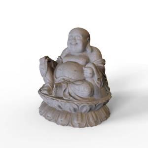Free 3D  Buddha Sculpture