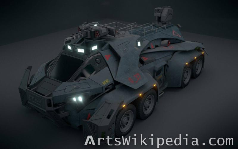Free Sci-Fi Vehicle