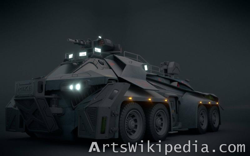 Free Sci-Fi Vehicle