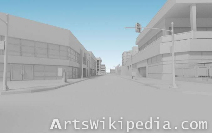 Free 3d City Street