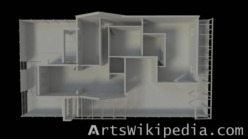 free 3d small house