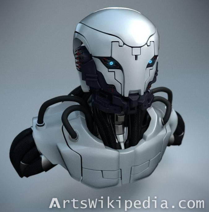 Free 3d Sci-Fi Robot