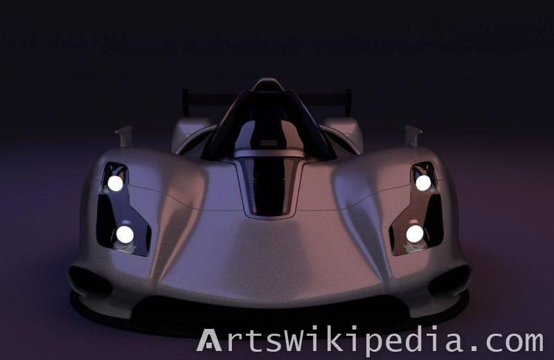 free 3d Le mans Car blender