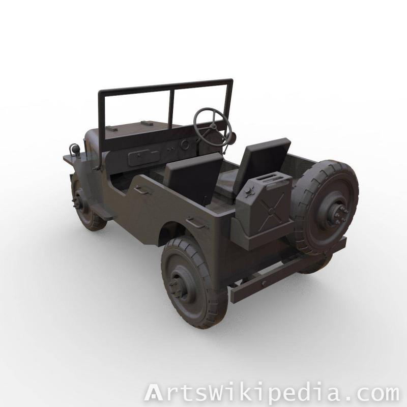 3d jeep 1944