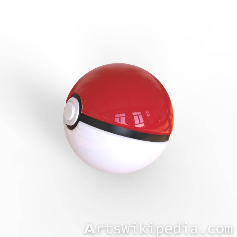 Free 3d Pokemon Ball