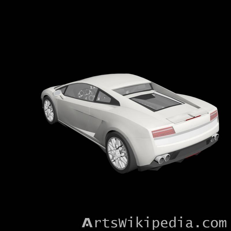 free 3d Lamborghini Gallardo LP560-4 2009
