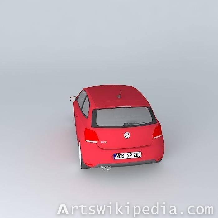 3d free Volkswagen polo gti mk5