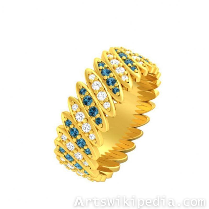free 3d band ring