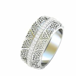 free 3d celtic ring rhino