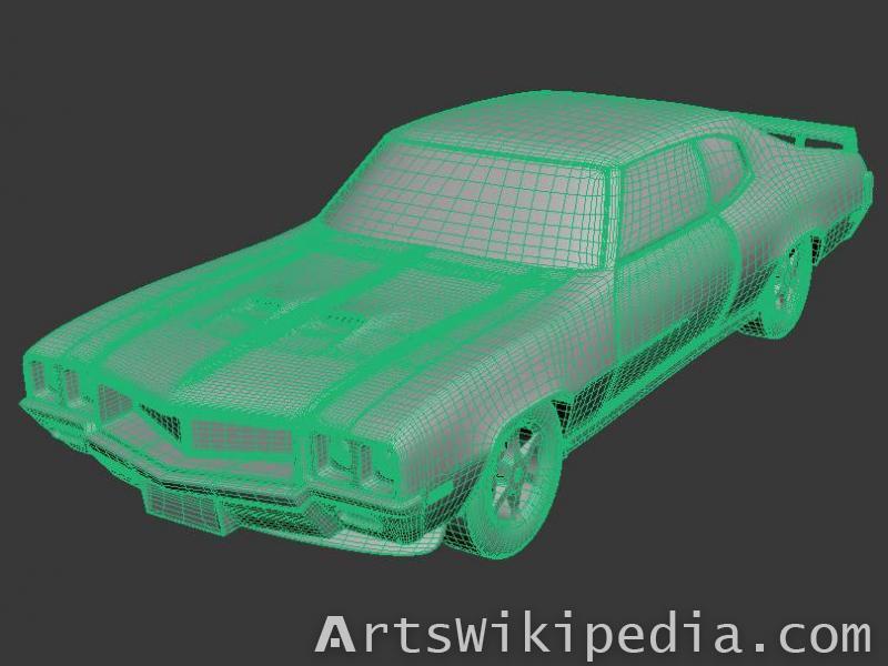 free 3d buick gsx 455