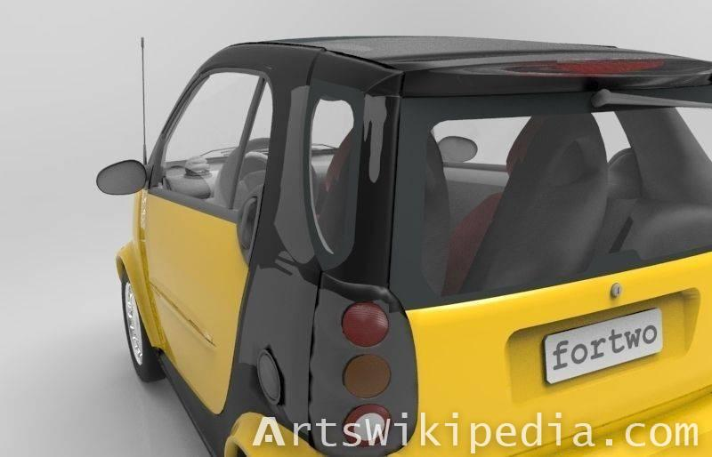 free 3d smart fortwo