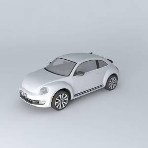 free-3d-volkswagen-beetle-turbo-a5-2012