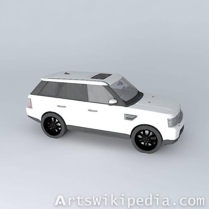 free White land rover range rover  2010