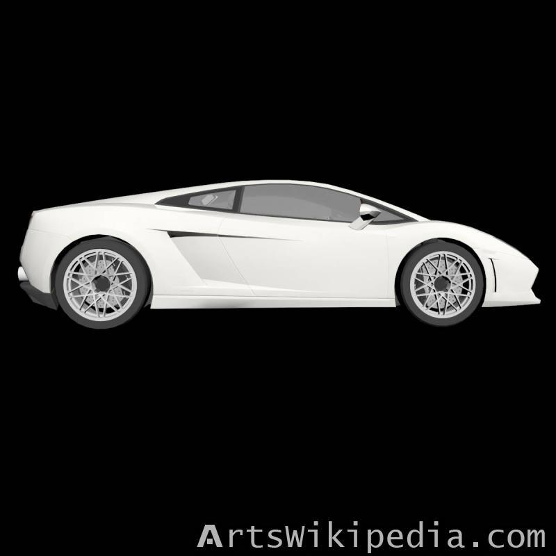 3dsmax Lamborghini Gallardo LP560-4 2009