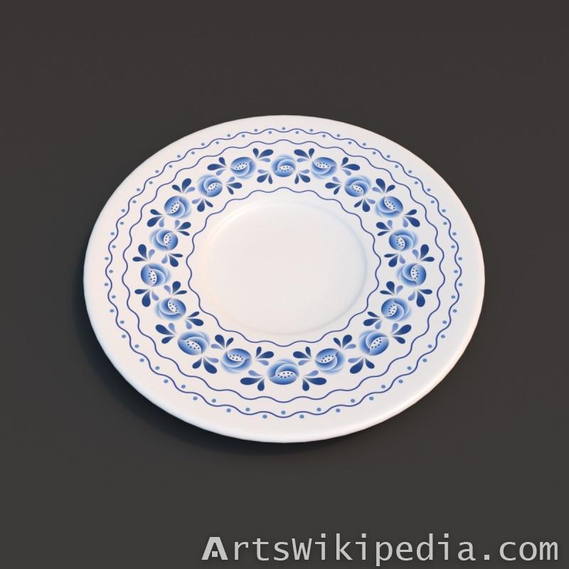 3d ornament plate
