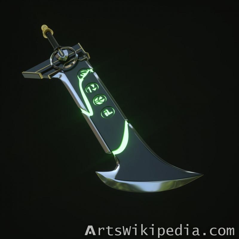 3D Riven Sword