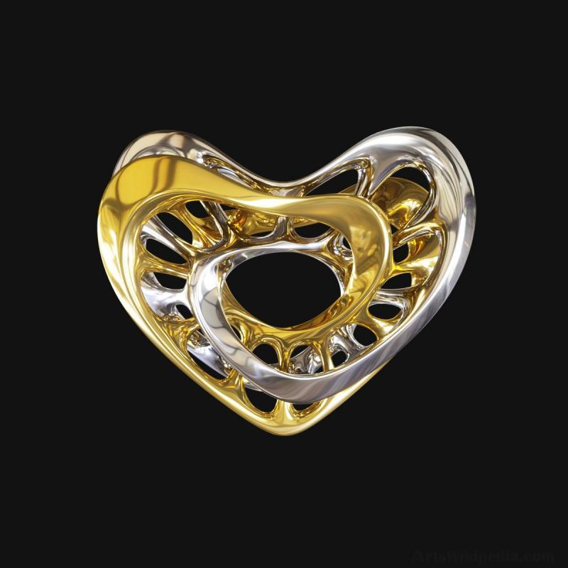 3d print interlocking heart