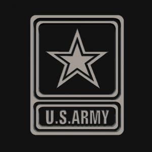 3D U.S ARMY Logo