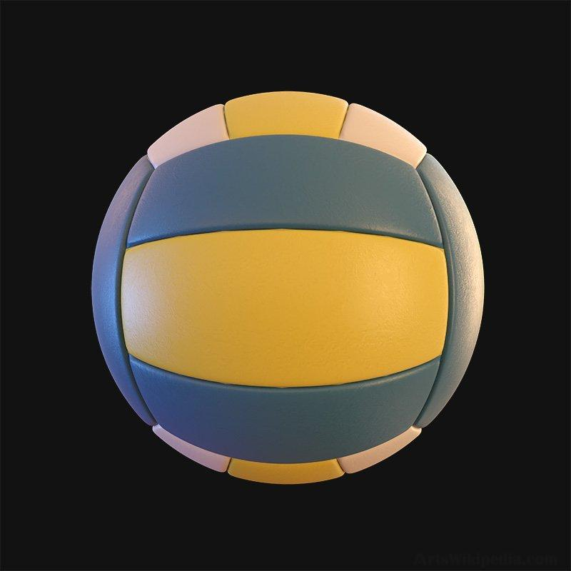 3D Volleyball