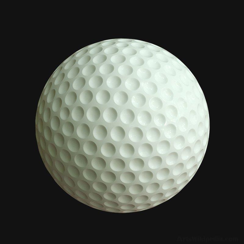 3d Golfball