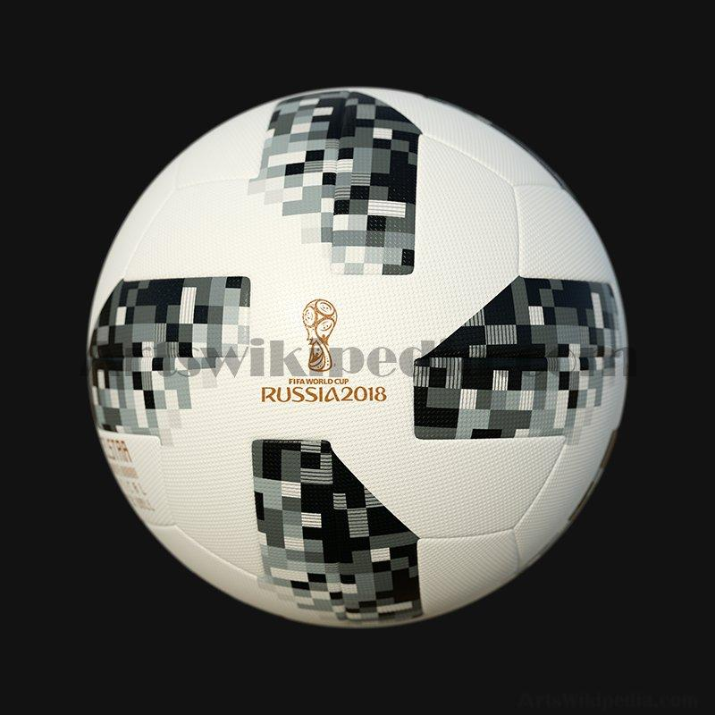 3D Telstar 18 official match ball