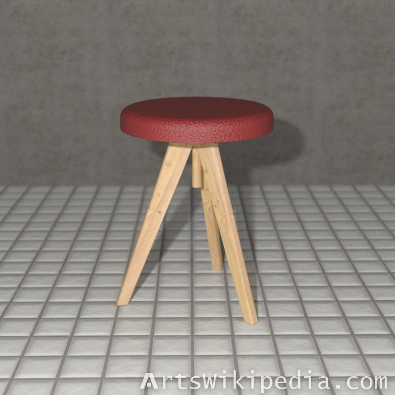 Round Chair Daz3d