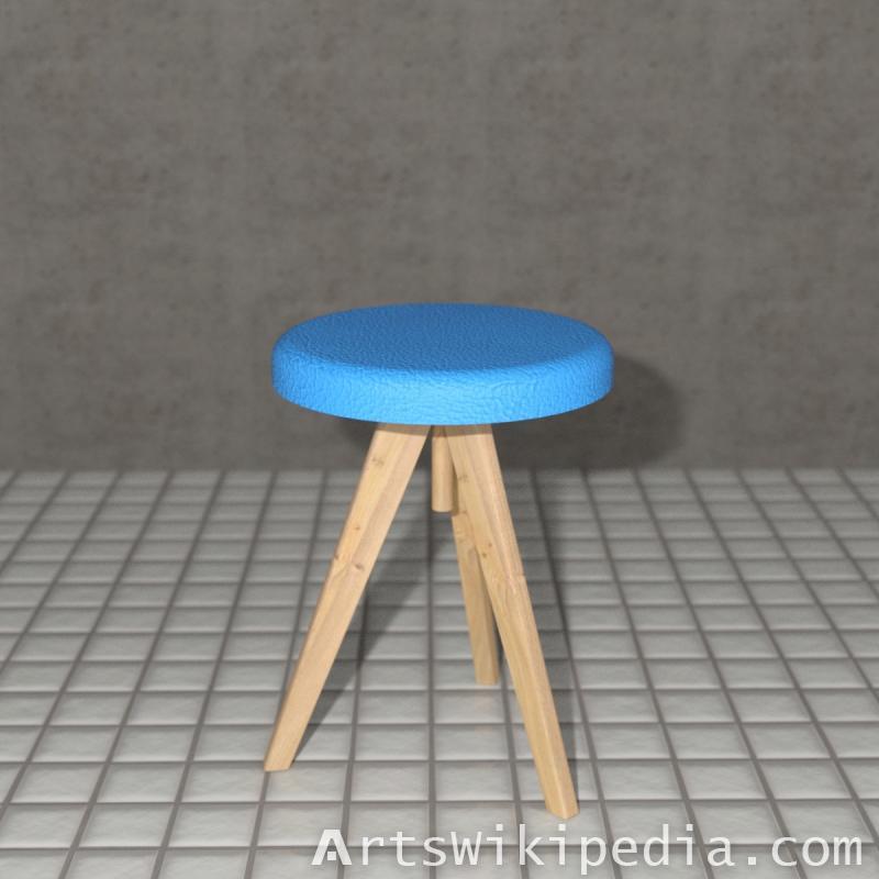 Round Chair Daz3d