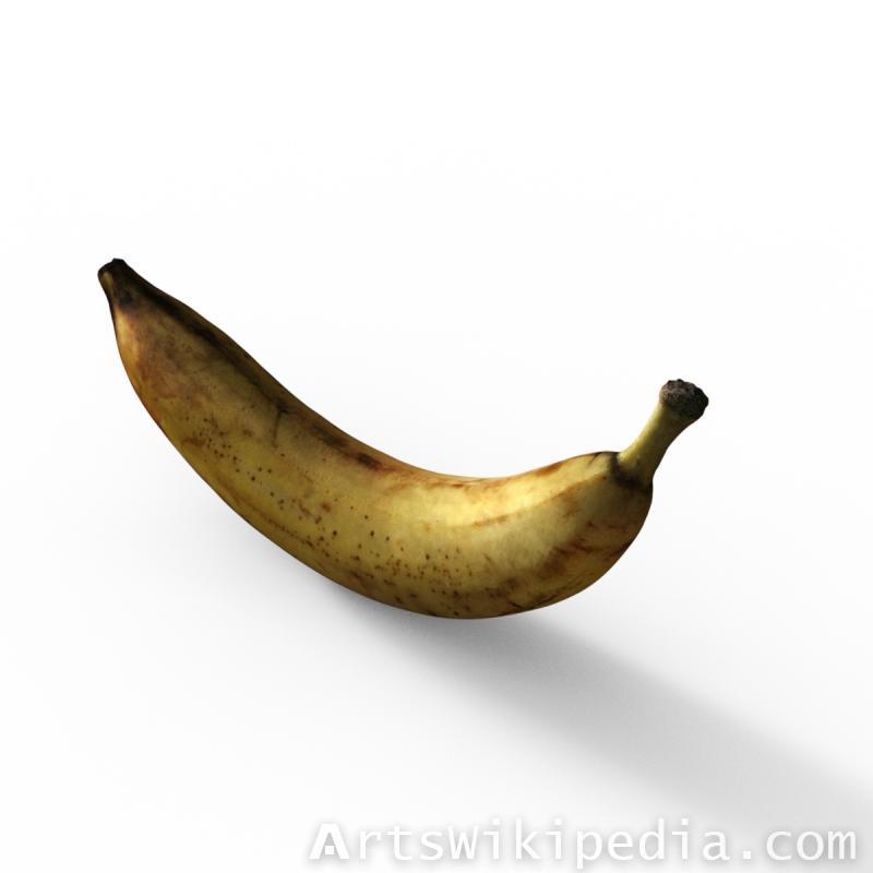 Daz3d Banana