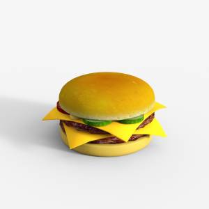 hamburger-daz3d