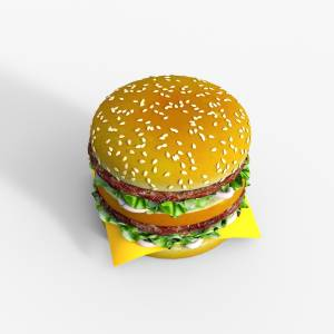 Double Burger daz3d