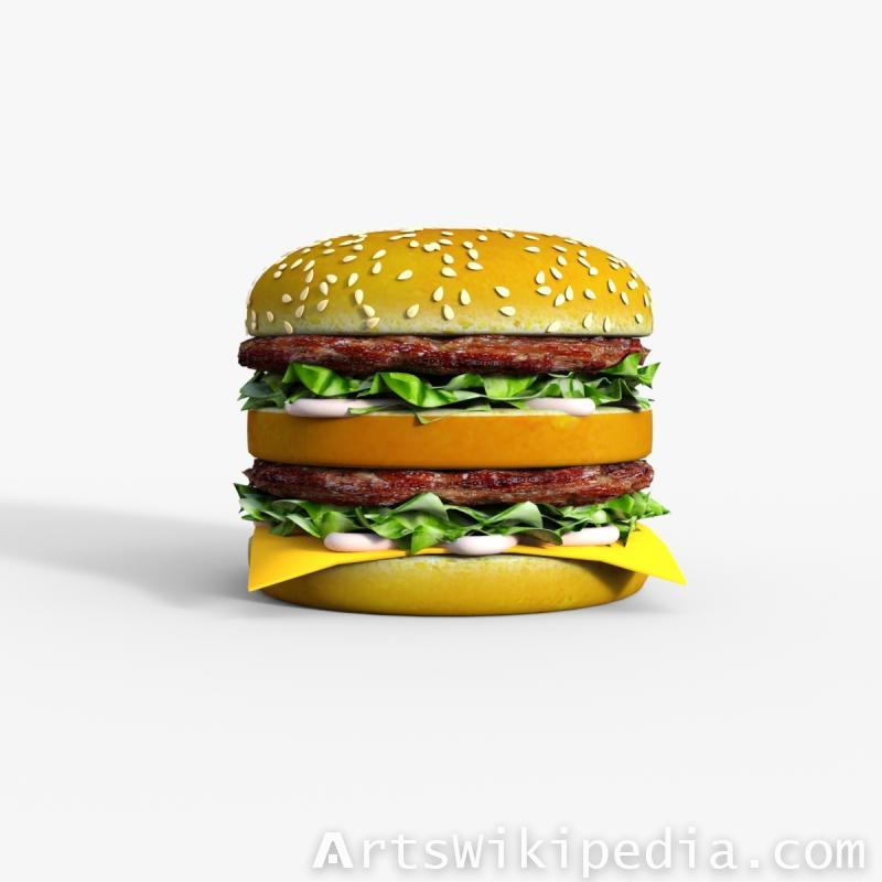 Double Burger daz3d