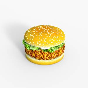 chicken-burger-daz3d