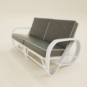 two-seater-sofa-gray-on-white