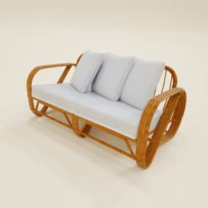 two-seater-sofa-white-on-wood