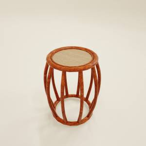 3d side table natural cane