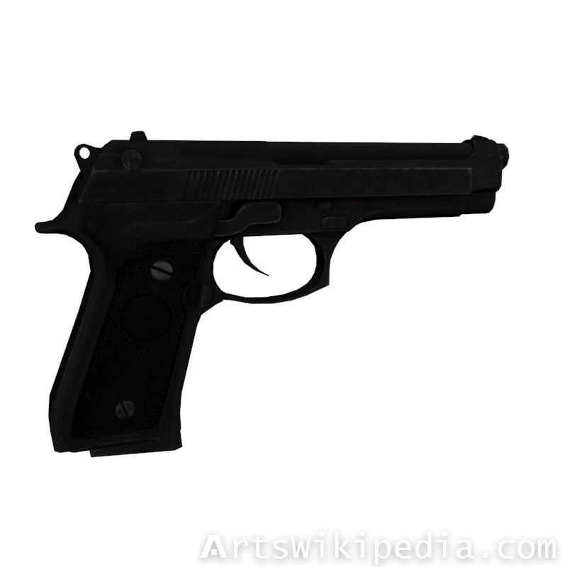VR M9 Gun