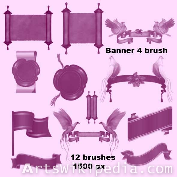 banner roll brushes