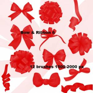 bow_and_flower_photoshop_brushes