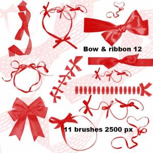 bow_and_ribbon_2500px_for_photoshop
