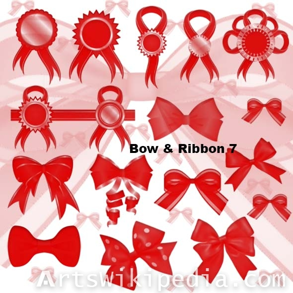 bow medal for photoshop