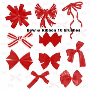 bow photoshop  brushes