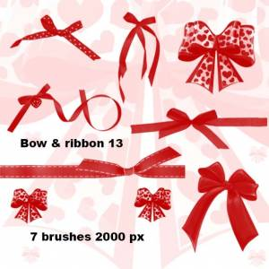 bow_with_heart_and_ribbon_photoshop_brushes_2000px