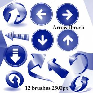 arrow_brushes_photoshop