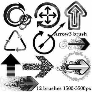 artistic_arrow_brushes