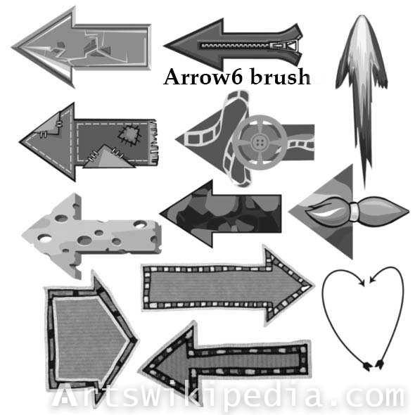 clothes Arrow brushes