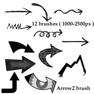 collection_of_arrow_brushes
