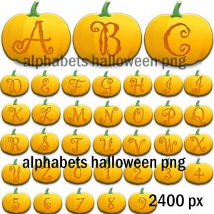 halloween_alphabets_characters_png