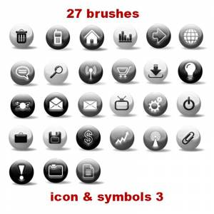 Shapes photoshop brushes