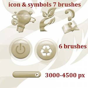 internet icons photoshop brushes