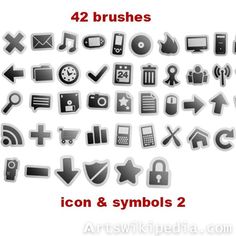 symbols brushes photoshop